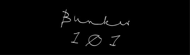 Bunker 101 Schriftzug