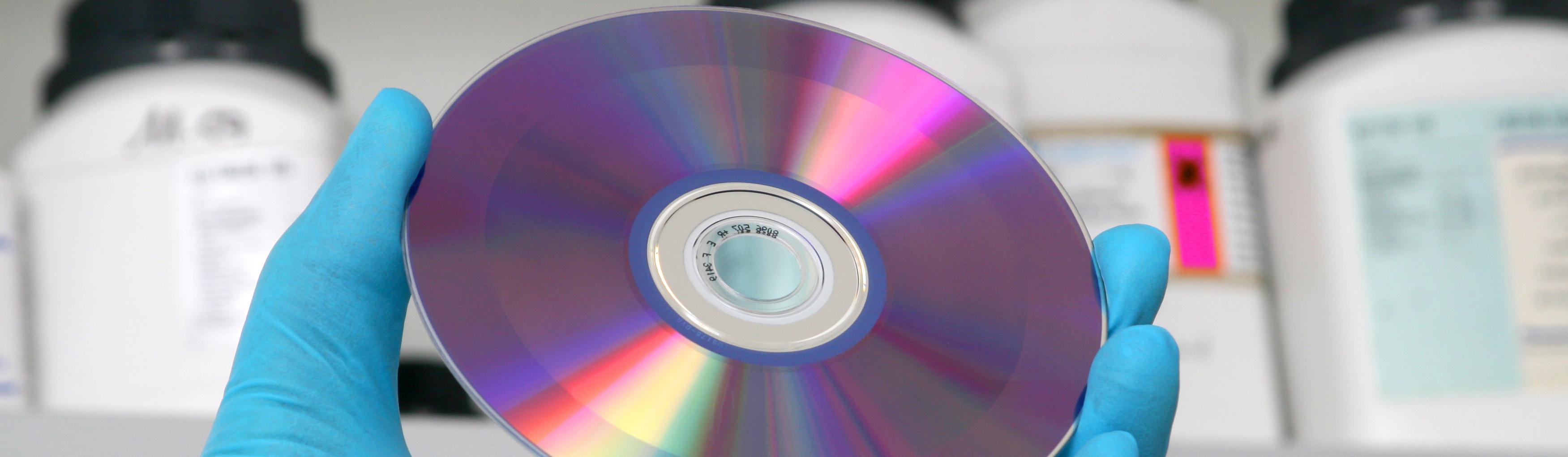Bilder einer CD-ROM