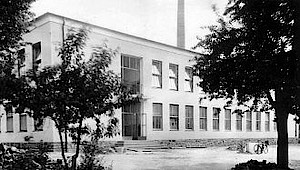 New laboratory for machine tools in 1952