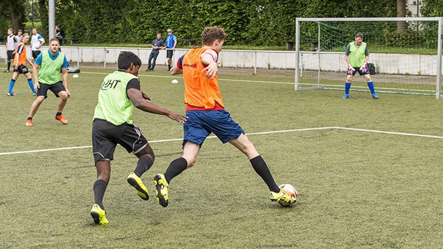 3. Alumni-Fußballturnier © FH Aachen, Jürgen Schönwald