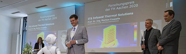 [Translate to Englisch:] Verleihung des Forschungspreises der FH Aachen 2020