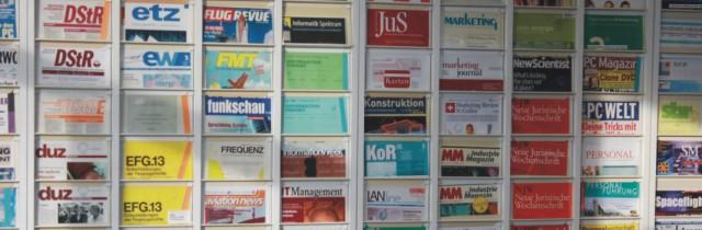 Zeitschriftenklappenschrank © FH Aachen